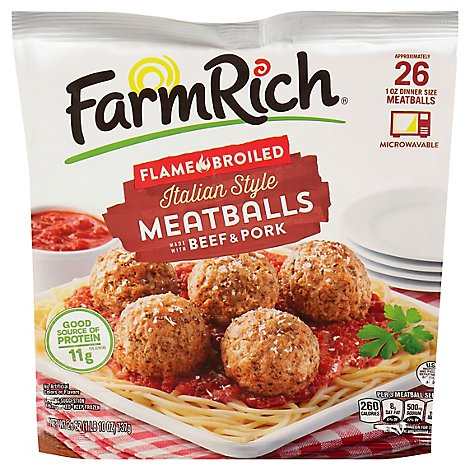 Farm Rich Meatballs Italian Style - 26 Oz