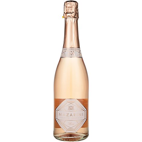 Mazarini Sparkling Rose Wine - 750 Ml