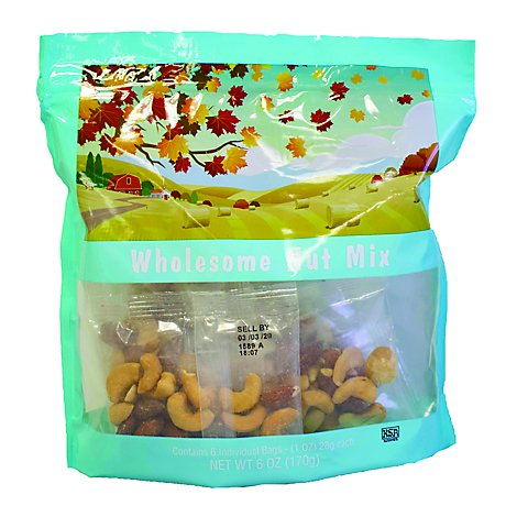 Torn & Glasser Wholesome Nut Mix - .375 Lb