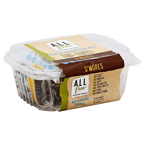 ALLfree Brownie Bites Smores Twin Pack - 5-1.7 Oz