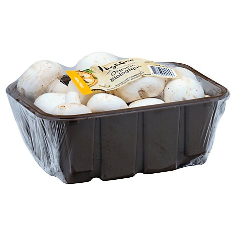 Mushrooms White Whole Organic - 16 Oz