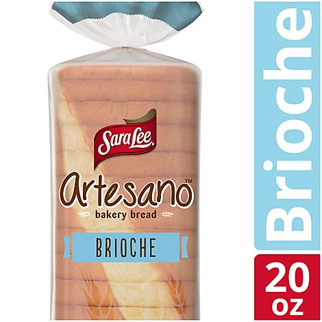 Sara Lee Artesano Bread Bakery Brioche - 20 Oz