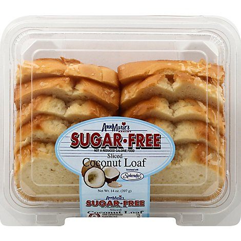 Ann Maries Sugar Free Sliced Coconut Loaf - 14 Oz.
