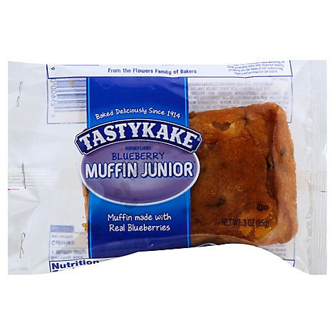 Tastykake Muffin Junior Blueberry - 3 Oz