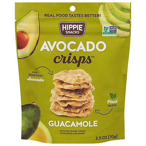 Hippie Sn Crisp Avocado Guac - 2.5 Oz