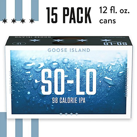 Goose Island So-Lo Can - 15-12 Fl. Oz.