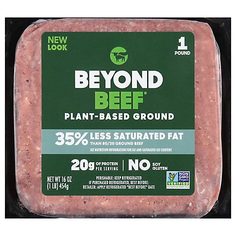 Beyond Meat Beyond Beef Plant Based Ground Beef - 16 Oz.