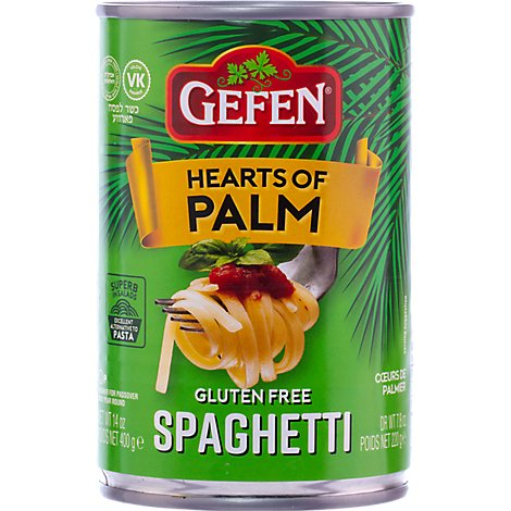 Gefen Hearts Of Palm Spaghetti Gf - 14 Oz