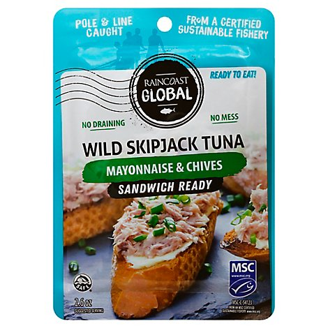 Raincoast Tuna Mayo & Chives Pouch - 2.6 Oz
