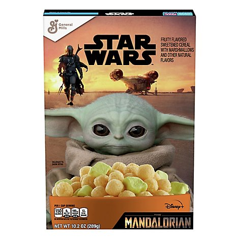 General Mills Cereal With Marshmallows Fruity Star Wars - 10.2 Oz