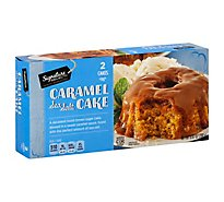 Signature Select Caramel Sea Salt Cake - 9.87 Oz