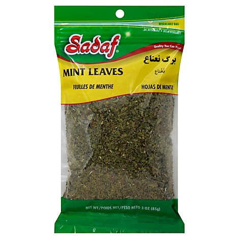 Sadaf Mint Leaves - 3 Oz