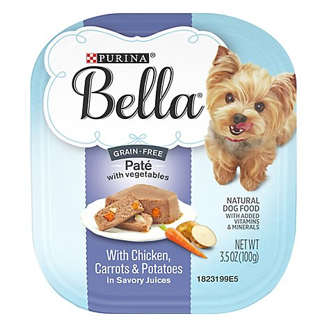 Bella Dog Food Wet Chicken Carrots & Potatoes - 3.5 Oz
