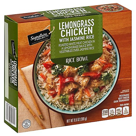 Signature Select Bowl Rice Lemongrass Chicken - 9.5 Oz