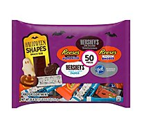Hersheys Candy Assortment Spooky Shapes Snack Size 50 Count - 25.8 Oz