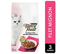 Fancy Feast Cat Food Dry Filet Mignon With Seafood & Shrimp - 3 Lb