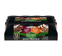 Dog Chow Dog Food Wet High Protein Chicken And Beef - 12-13 Oz
