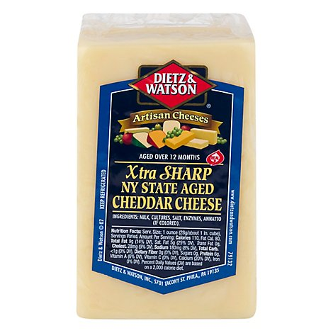 Dietz & Watson New York X Sharp Cheddar - Case