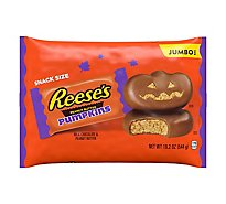 REESES Peanut Butter Pumpkins Snack Size Jumbo Bag - 19.2 Oz