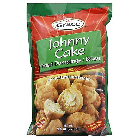 Grace Johnny Cake Mix - 9.5 Oz