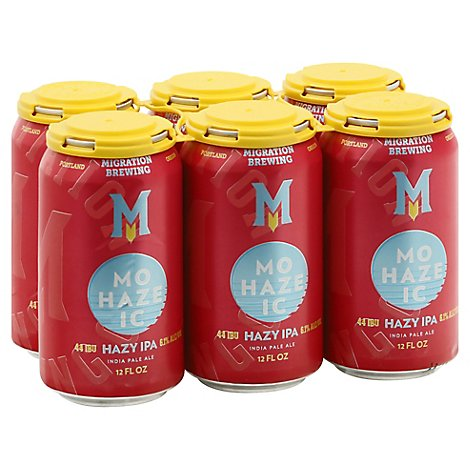 Migration Mohazeic Ipa In Cans - 72 Oz
