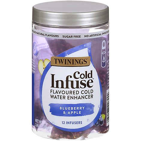 Twinings Cold Infuse Blueberry Apple & Blackcurrant - 12 Count
