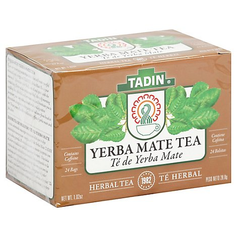 Tadin Canelita Herbal Tea Yerba Mate 24 Count - 1.02 Oz