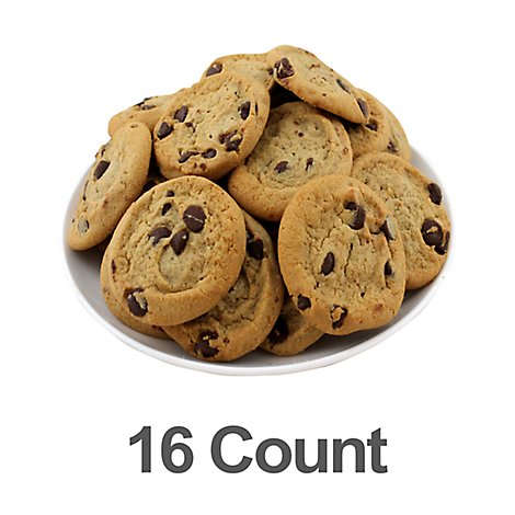 Bag 16/1oz Cookies - Chocolate Chip - 16 Oz