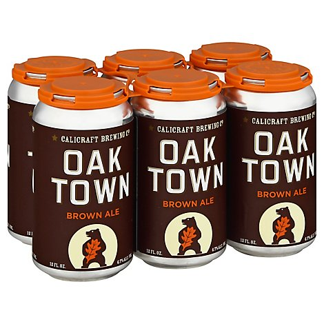 Calicraft Oaktown Brown In Cans - 6-12 Fl. Oz.