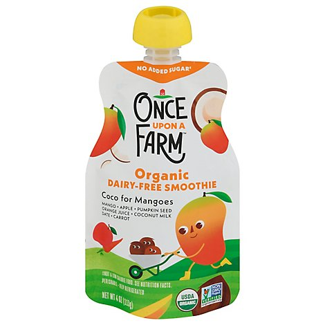 Once Upon A Farm Storybook Smoothies Coco For Mangoes - 4 Oz