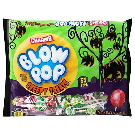 Charms Treat Creepy Blow Pop - 30.25 Oz