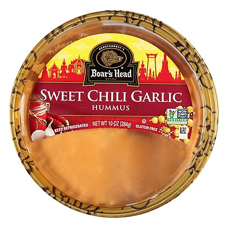 Boars Head Hummus Sweet Chili Garlic - 10 Oz