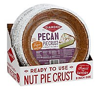 Diamond Pie Crust Pecan 9 Inch - 6 Oz