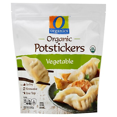 O Organics Potstickers Vegetable - 16 Oz