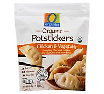 O Organics Potstickers Chicken & Vegetable - 16 Oz