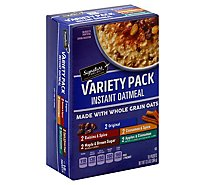Signature SELECT Oatmeal Instant Variety Pack 10 Count - 13.5 Oz