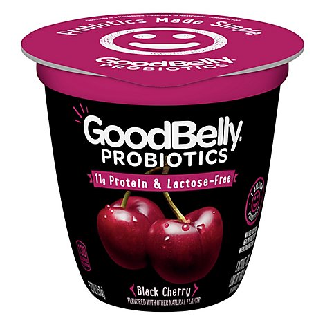 Goodbelly Probiotic Yogurt Black Cherry - 5.3 Oz