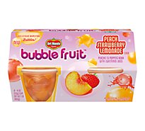 Del Monte Bubble Fruit Peach Strawberry Lemonade - 4-4 Oz