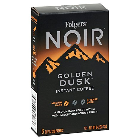 Folgers Noir Golden Dusk - 6 Count