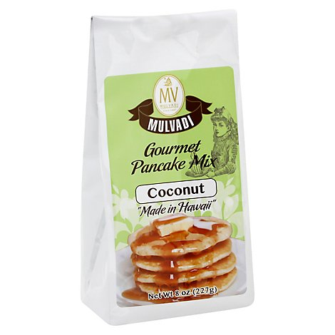 Mulvadi Pancake Mix Coconut - 8 Oz
