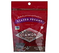 Diamond Pecans Glazed - 5.5 Oz