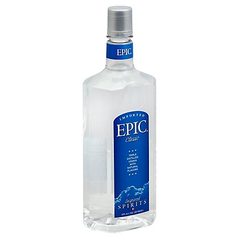 EPIC Classic Vodka Triple Distilled 80 Proof - 1.75 Liter