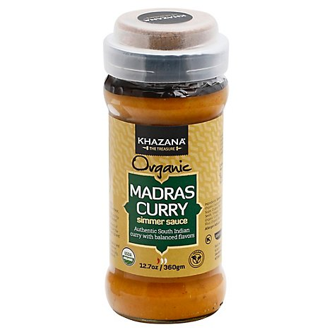 Khazana Sauce Smrng Madras Curry - 12.7 Oz