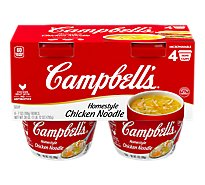 Campbells Home Style Soup Chicken Noodle - 4-7 Oz