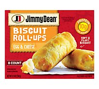 Jimmy Dean Egg and Cheese Biscuit Roll-Ups - 8 - 12.8 Oz.