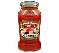 Bertolli Sauce Parmesan And Romano With Cracked Black Pepper - 24 Oz
