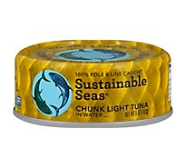 Sustainab Tuna Lt Chunk In Water - 5 Oz