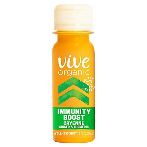 Vive Organic Immunity Boost Shot With Cayenne - 2 Fl. Oz.