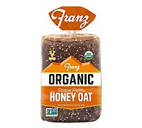 Organic Honey Oat & Seed Bread - 24 Oz