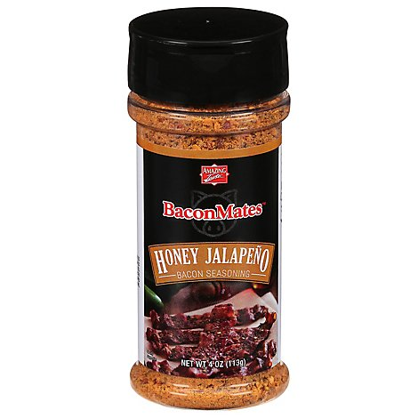 Amazing Taste BaconMates Bacon Seasoning Honey Jalapeno - 4 Oz